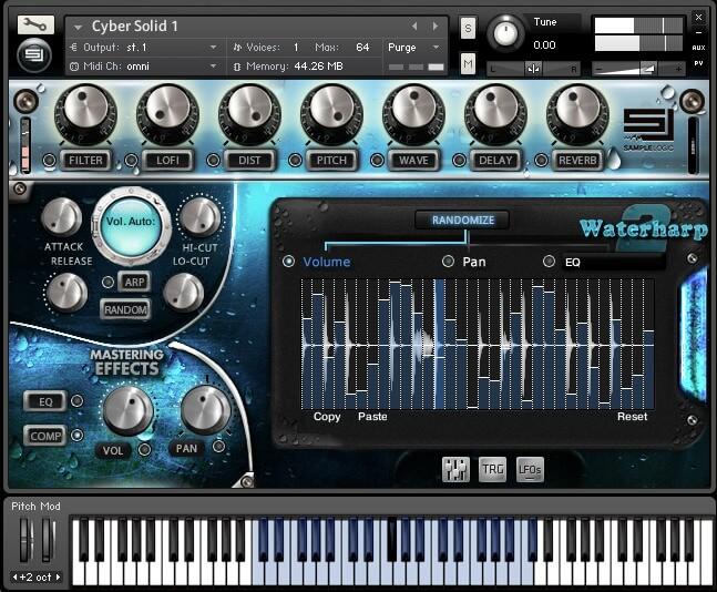 ピアノ1音色のくせに5.26GB (compressed・圧縮時)の大容量のkontakt ピアノ音色ライブラリですが、操作方法や出音はどうだったのでしょうか。早速見ていきましょう。