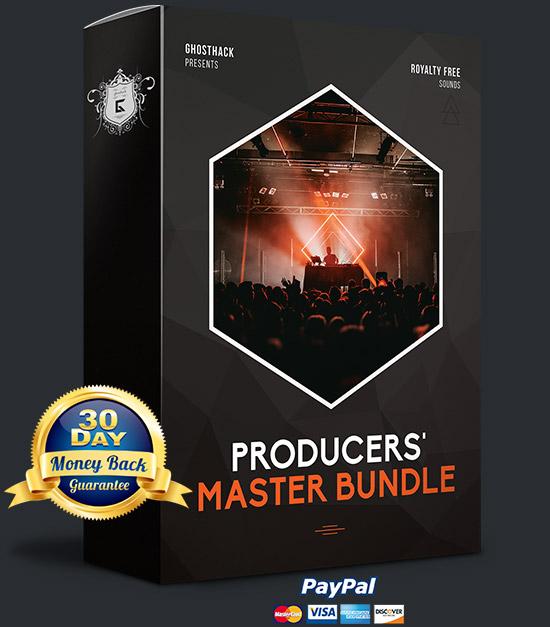6 600種類のサンプルライブラリバンドル、ghosthack「producers Master