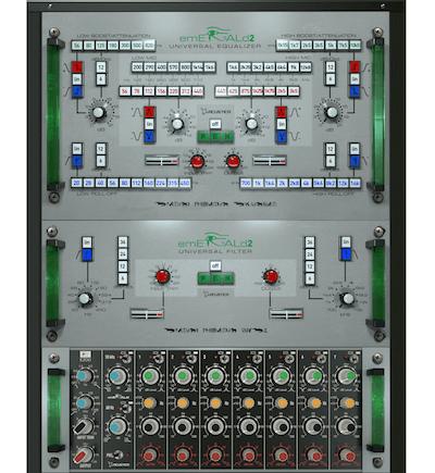 3種類のプラグインをバンドルした、Acustica Audio「Emerald2」リリース!