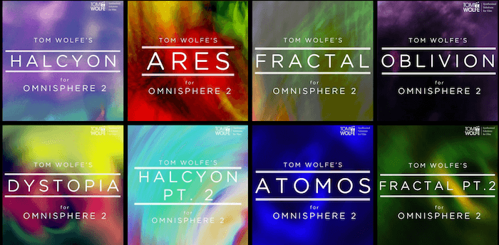 8種類のOmnisphere 2用パッチコレクション、Tom Wolfe「OMNISPHERE COLLECTION」が40%以上OFF!